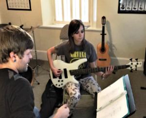 Bass Guitar Lesson
